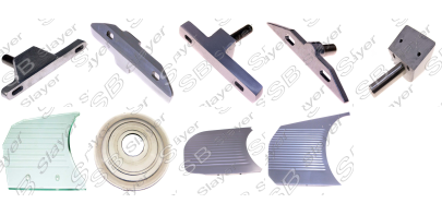 sliding plate support and sliding plates